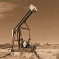 Old Pumpjack  Artesia New Mexico by Jeff Swan