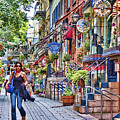 Old Quebec City by David Smith
