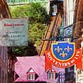 Old Quebec City Funicular by Thom Zehrfeld