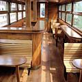 Old Railway Wagon Interior Vintage by Goce Risteski