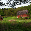 Old Red Barn 2 by Larry Ricker