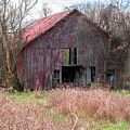 Old Red Barn by Carlton Cates
