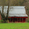 Old Red Barn In Jefferson County by Greg Matchick