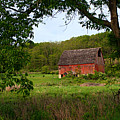 Old Red Barn by Larry Ricker