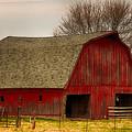 Old Red Barn by Terri Morris