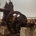 Old Rice Well Pump by George Lehmann