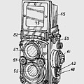 Old Rollie Vintage Camera T-shirt by Edward Fielding