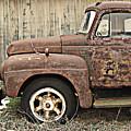 Old Rust Truck by Karen Smith