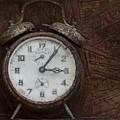 Old Rustick Clock by Linda D Lester
