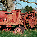 Old Rusty Tractors by Grant Groberg