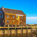 Old Sail Loft, Salem Maritime National Historic Site, Salem, Massachusetts by Brian MacLean