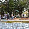 Streets Of Old San Juan by Bethzali Mongare
