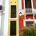 Old San Juan Homes by The Art of Alice Terrill