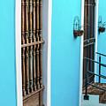 Old San Juan House In Historic Street In Puerto Rico by Jasmin Burton