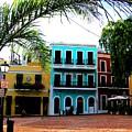 Old San Juan Pr by Michelle Dallocchio