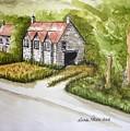 Old Scottish Stone Barn by Diane Palmer