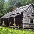 Old Settlers Cabin Smoky Mountains National Park by NaturesPix