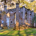Old Sheldon Church Ruins by Linda Covino