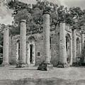 Old Sheldon Church Ruins, South Carolina by Dawna Moore Photography
