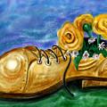 Old Shoe Planter by David Kyte