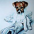 Old Shoe Pup by Hanne Lore Koehler