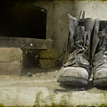 Old Shoes by Alex Art and Photo