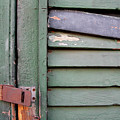 Old Shutters French Quarter by KG Thienemann