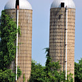 Old Silos by Jan Amiss Photography