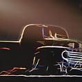 Old Sketched Pickup by Jim Lepard