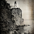 Old Split Rock Lighthouse by Perry Webster