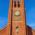 Old St. Mary's Church by Bonnie Follett
