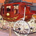 Old Stagecoach - Wells Fargo Inc. by Merton Allen