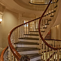 Old State House Spiral Staircase by Susan Candelario