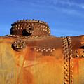 Old Steam Engine Boiler Detail by James Brunker