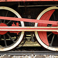 Old Steam Locomotive Iron Rusty Wheels by Goce Risteski