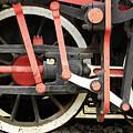 Old Steam Locomotive Wheels by Goce Risteski