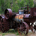 Old Steam Tractor by Penny Haviland