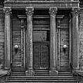 Old Stone Bank Providence Grainy by Edward Fielding