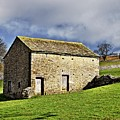 Old Stone Barns by Martyn Arnold