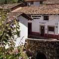 Old Stone Bridge In Historic Hillside Village Of San Sebastian D by Reimar Gaertner