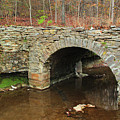 Old Stone Bridge In Illinois 1 by Greg Matchick