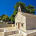 Old Stone Chapel In Primosten by Brch Photography