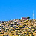 Old Stone Church And Green Energy Plant by Brch Photography