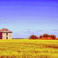 Old Stone Farmhouse Tuscany by Dominic Piperata