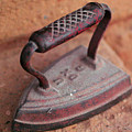 Old Stove Iron by Jeff Swan