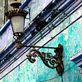 Old Street Lamp By Darian Day by Mexicolors Art Photography