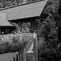 Old Sturbridge House In Black And White by Belinda Dodd