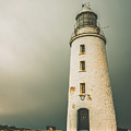 Old Style Australian Lighthouse by Jorgo Photography - Wall Art Gallery
