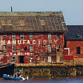 Old Tarr And Wonson Paint Factory. Gloucester, Massachusetts by Lita Kelley