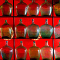 Old Tequila Jugs By Darian Day by Mexicolors Art Photography